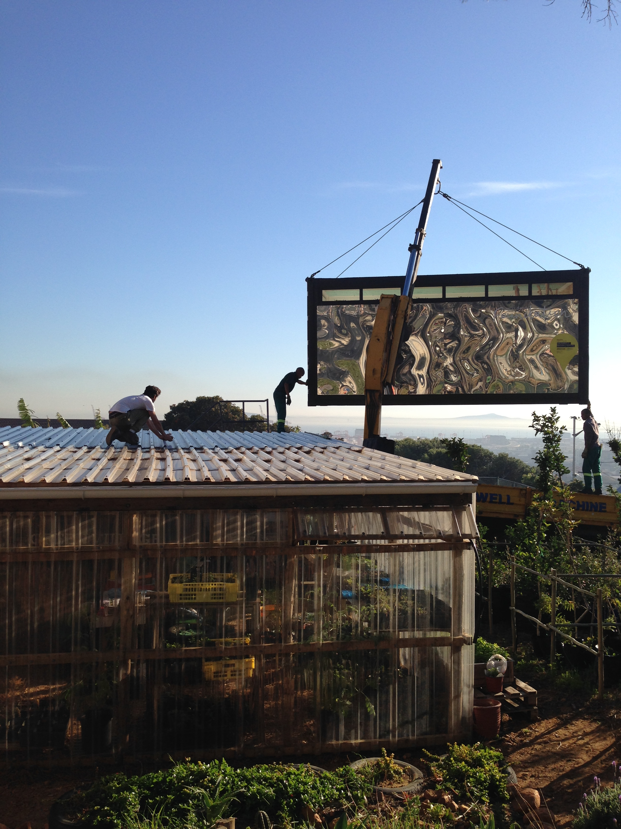 Greenpop container woodstock cape town c cile boyd foundation - Container homes cape town ...
