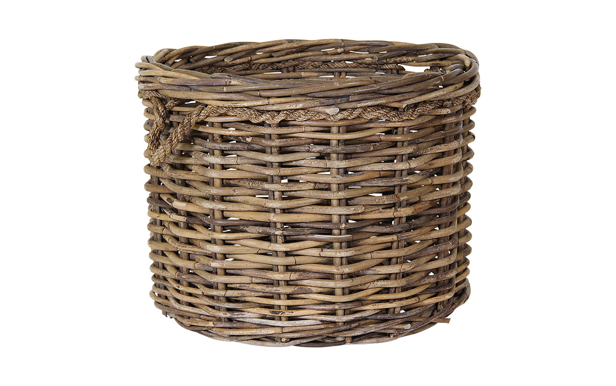 Basket With Rope Large